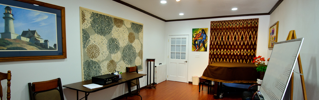 AMAC teaching studios are roomy and delightful. Rentals are available.